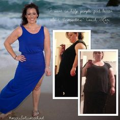 """#Repost @1coachlydia  Over 120lbs lost! Wha????!!! YES!  I'm so amazed by Lori's journey. It may have not have started with MM. The fact that MM was able to play a part in her journey is wonderful in itself.  How she started doesn't matter. It's that her journey started.  One of the things I love she said...""""I decided to get healthy for me"""". Now she is inspiring and changing lives. """"I chose to become a Certified Coach for the Metabolic Method Program because it works its a program that is…"""