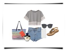 """Stripes"" by sillycatgrl ❤ liked on Polyvore featuring Chicnova Fashion, Mary Katrantzou, Rebecca Minkoff and Moschino"