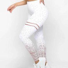 Tropical Floral Plants Paradise Nature Girl High Waist Yoga Pants Quick-Dry Shapewear Funky Leggings