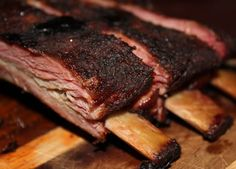 When it comes to BBQ.  I think of Texas BBQ.  Low and slow.  The seasoning is kept simple too!  Salt and pepper are the main players in the rub.  While sweet paprika, onion powder, and garli…