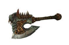 World of Warcraft - Full Size Gorehowl Free Papercraft Download