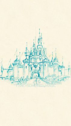 Disneyland Castle Iphone 5 Backgrounds The one to the right was made using a sketch owned by the Walt Disney Company Requested by: disneylandismyhomeee Disney Dream, Disney Love, Disney Magic, Disney Art, Walt Disney World, Disney Canvas, Disney Stuff, Disney And Dreamworks, Disney Pixar