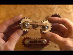 Planetary Gears Fidget Spinner Toy - YouTube