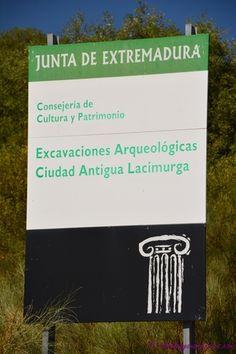 La ciudad antigua de Lacimurga, ubicada en el cerro de Cogolludo, entre Navalvillar de Pela y Puebla de Alcocer