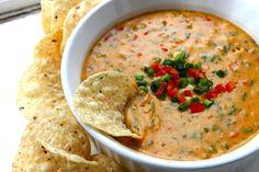 Chile Con Queso...aka Tex-Mex-Style Nacho Cheese Dip