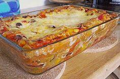 Mexikanische Lasagne - vegetarische Version (Rezept mit Bild) | Chefkoch.de