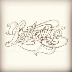 Sketch for Tuesdays FoT guest post. Check out the site for the final! #lettering #handlettering #sketch #friendsoftype