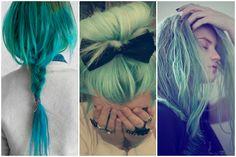 S.O.S Maquiagem!: Linda da raiz as pontas: A moda dos cabelos coloridos!