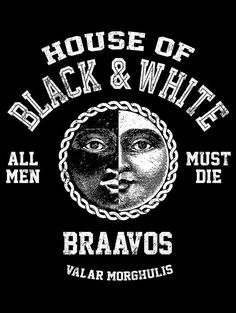 House of Black and White T-Shirt $12 Game of Thrones tee at Once Upon a Tee!
