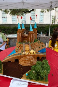 AIA's Gingerbread Build Off has become an annual tradition for Houston architecture, design & other creative folks. #homefortheholidays