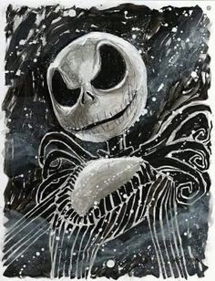 Tim Burton Art, Tim Burton Films, Jack Y Sally, Nightmare Before Christmas Drawings, Jack The Pumpkin King, Sally Nightmare, Johny Depp, Creepy Pictures, Marvel