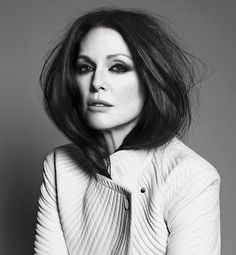 Julianne Moore photographed by Paola Kudacki for Porter, Spring 2014. Styled by Lori Goldstein.