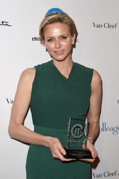 Her serene highness, Princess Charlene of Monaco, is honored with this year's 'Champion of Children' Award at the Colleagues' 26th Annual Spring Luncheon at the Beverly Wilshire Four Seasons Hotel, 29.04.14 in Beverly Hills, California.