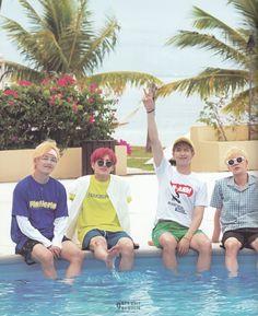 BTS - Summer Package 2018 In Saipan (by bangtan sonyeon scans) Bts Bangtan Boy, Bts Taehyung, Bts Boys, Jhope, Foto Bts, Bts Photo, K Pop, Beatles, Bts Summer Package