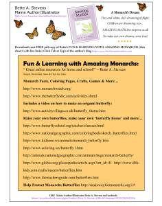 Fun&LearningWith Amazing Monarchs! 2014