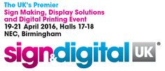 There's no better opportunity to generate new business, open new accounts and meet the industry than at this unparalleled event Trade Show, Birmingham, Signage, Digital Prints, Events, Fingerprints