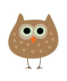 Free owl clipart perfect for parties, crafts, teachers and websites!