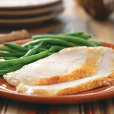 Honey-Brined Turkey Breast Recipe -Here's a traditional turkey breast with a sweet and spicy zest. This moist and savory recipe also makes great leftovers. —Deirdre Cox, Kansas City, Missouri