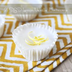 21-DSD Lemon Vanilla Meltaways | Fed and Fit {recipe from The 21-Day Sugar Detox book!}