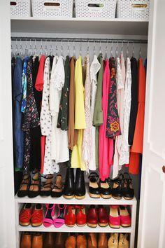 5 closet organization tips!
