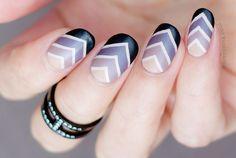 29 Gradient Nail Designs You Must Try - Fashion Star Gradient Nail Design, Gradient Nails, Blue Nails, Winter Nail Art, Winter Nails, Nail Care Tips, Blue Nail Designs, Healthy Nails, Beautiful Nail Art
