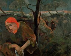 """The Agony in the Garden"" by Paul Gaugin"