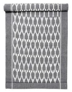ISA runner grey | Tablerunner | Tablelinen | Kitchen Textile | Interior | INDISKA Shop Online