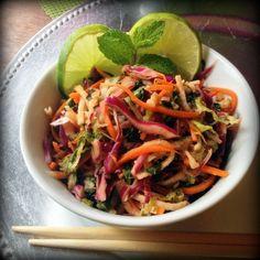 Spicy Thai Salad- One of my favorite foods <3