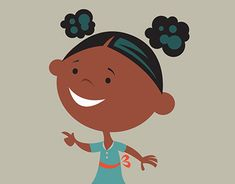 WIP illustration of a little girl Little Girl Illustrations, Illustration Girl, New Work, Adobe Illustrator, Little Girls, Minnie Mouse, Disney Characters, Fictional Characters, Behance