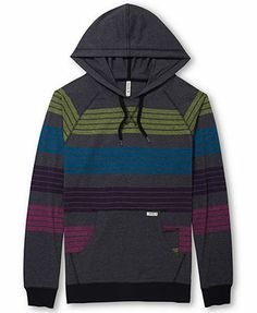 Univibe Striped Hoodie