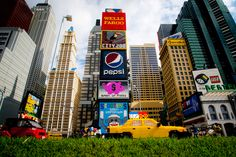 Visit our model Times Square seen in the new Miniland USA!