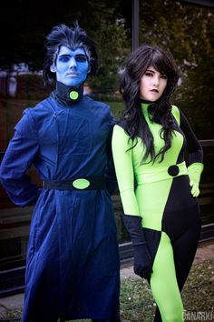Dr. Drakken and Shego from Kim Possible