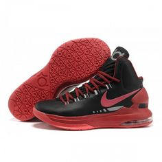 211751c980ce Nike Kevin Durant 5 Basketball shoes Black Red Nike Kd Shoes