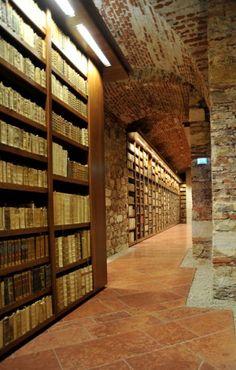 Sankt Paul im Lavanttal (Carinthia - Austria ) - la biblioteca