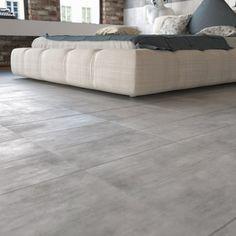 Klinker Hill Ceramic Concrete Grå 30x60 - Klinker utomhus - Klinker Next At Home, Bathroom Inspiration, Mattress, Concrete, Tiles, Ottoman, Couch, Interior Design, Bedroom