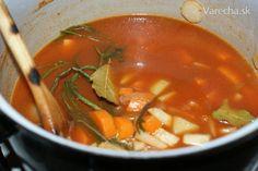 Osviežujúca polievka minestrone (fotorecept)