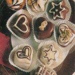 Cukrovi na Vanoce: Čokoládové lanýžky