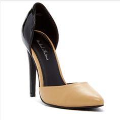 "Michael Antonio Pumps Point toe - Slip-on - Mixed media construction - Stiletto heel - Approx. 4.5"" heel Brand new in box. Michael Antonio Shoes Heels"