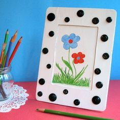 Disney Mothers Day Craft: Dalmatian Picture Frame