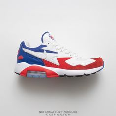 c4a1f4ad087c World Cup Theme Fsr Nike Air Max 180 Og 2 Vintage All-Match Jogging Shoes  French White Red Blue