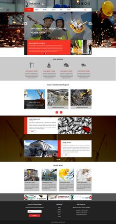 Sell365's Industrial Template. One of the best Website Builder in India. Design and customize your own website with our free website templates.