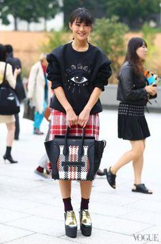 #Céline - #pfw street chic