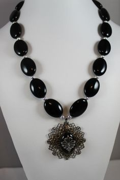 - Layered Filigree and Onyx