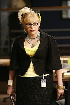 Kirsten Vangness....she has the greatest glasses and style on Criminal Minds