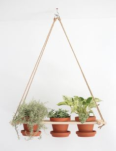 Creative DIY Planters - DIY Hanging Planters - Best Do It Yourself Planters and crafts that you can