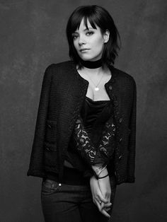 The Little Black Jacket: Chanel's Classic Revisited. Is this Lily Allen?