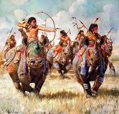 Raehocian warriors