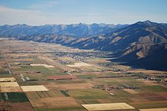 Afton, Wyoming---the town my niece is named after. <3
