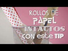 Tips Hogar | Rollos de papel intactos con este tip | @iMujerHogar - YouTube