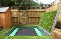 Perfect way to use the back yard, great for kids and fitness :D